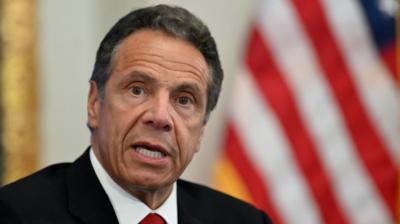 El asediado gobernador de Nueva York, Andrew Cuomo