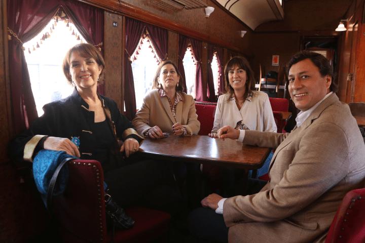 Autoridades chilenas dieron inicio a la temporada de turismo ferroviario