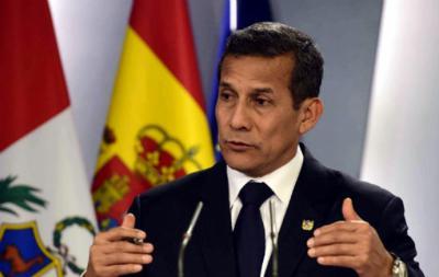Fiscalía acusa a expresidente peruano Humala y su esposa por recibir donaciones de Odebrecht