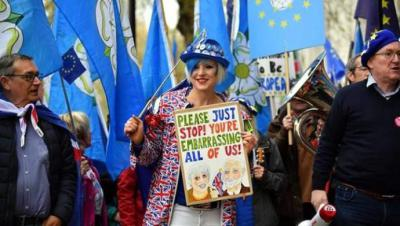 El Gobierno británico participará en las elecciones europeas