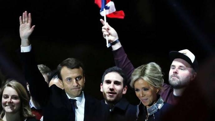 Emmanuel Macron listo para asumir la Presidencia de Francia