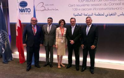 Miguel Mirones, participa en el Consejo Ejecutivo de la OMT en Bahrein