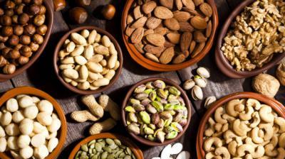 Frutos secos, imprescindibles en la dieta mediterránea