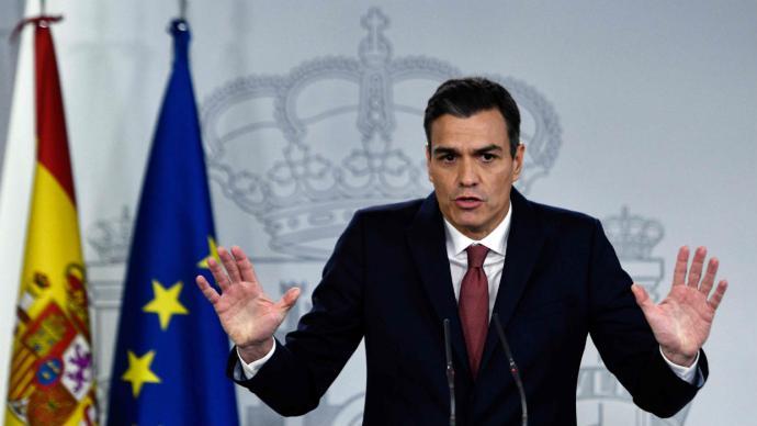 Pedro Sánchez prevé acabar procedimiento para exhumar a Franco en enero de 20