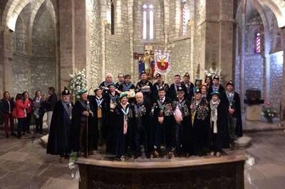 La Cofradía del Queso de Cantabria ganó el Jubileo en el Monasterio de Santo Toribio de Liébana