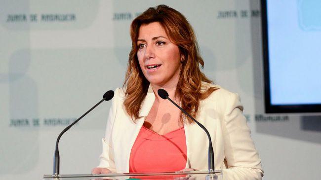 Susana Díaz adelanta la elecciones andaluzas