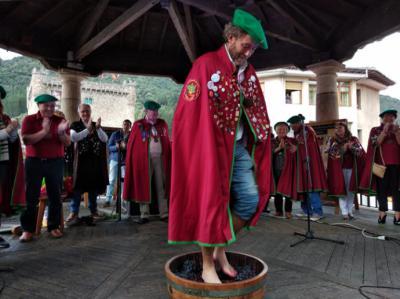 La Fiesta de la Vendimia de la comarca de Liébana se celebró en Potes