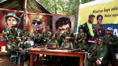Los jefes disidentes de las FARC, liderados por 'Iván Márquez', anunciaron el 29 de agosto su regreso a la lucha armada. Algunas versiones señalan que están en Venezuela
