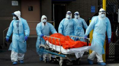 Estados Unidos supera los 400.000 casos de coronavirus y las muertes ya son 13.007