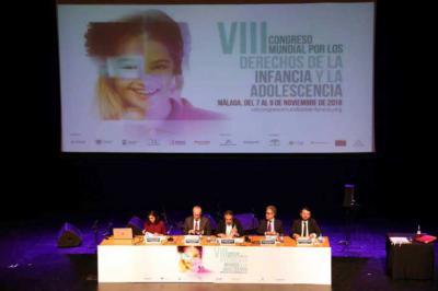 Expertos internacionales del mundo académico, institucional y profesional analizan el Málaga los derechos de niños y adolescentes