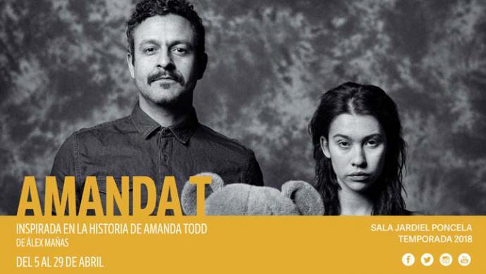 """""""Amanda T"""" de Alex Mañas en el Teatro Fernán Gómez. Obra inspirada en una historia real de las redes sociales"""