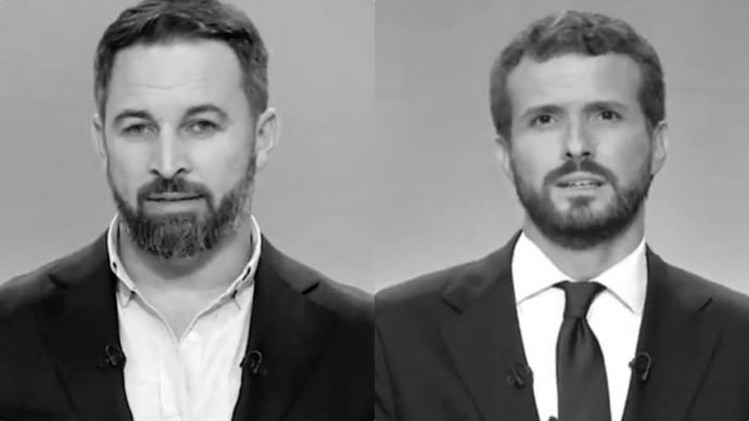 PP y Vox compiten en dureza contra el Gobierno: Casado llama
