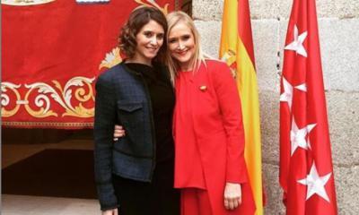 Isabel Díaz Ayuso y Cristina Cifuentes en una foto compartida por la primera en pleno caso Máster. / Instragram de Isabel Díaz Ayuso