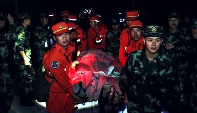Terremoto de 6,5° en China: Al menos 13 muertos y 175 heridos