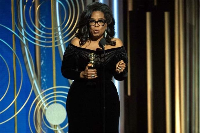 Twitter se llenó de mensajes de apoyo, las tazas de Oprah 2020 a 17 dólares de la compañía Fishs Eddy se agotaron y muchos demócratas expresaron su apoyo.