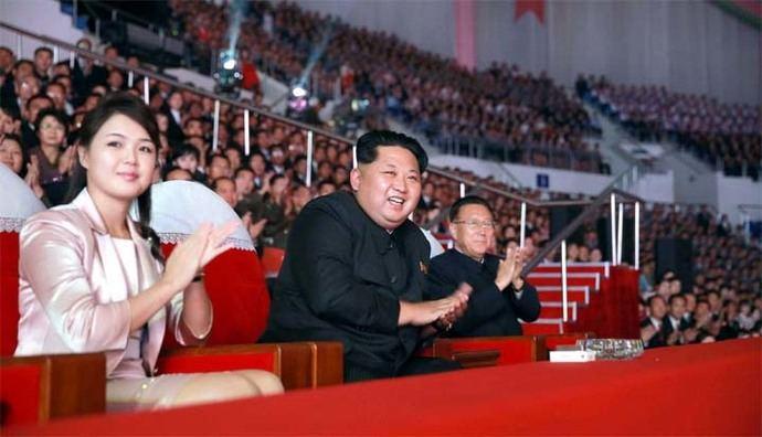Kim Jong-un está casado con una ex estrella pop