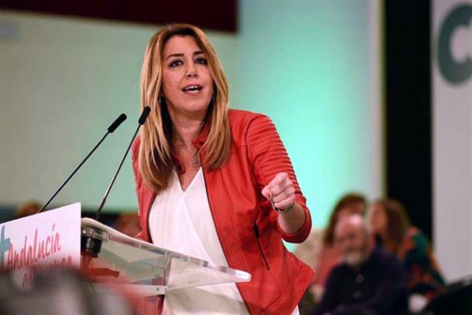 El desacuerdo entre VOX-PP podría hacer presidenta de la JJAA a Susana Díaz