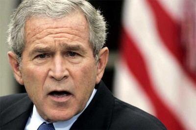 El expresidente estadounidense George Bush.