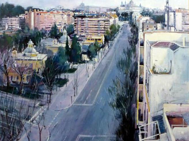 """""""Miradas de Madrid"""", exposición de pintura en la galería ARDEARTE"""