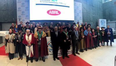 Cincuenta cofradías gastronómicas de España, Francia y Portugal se dieron cita en Ourense