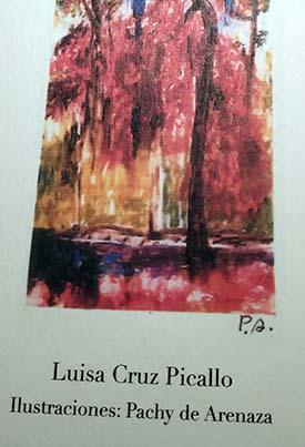 """Luisa Cruz Picallo y Pachy de Arenaza, poeta e ilustradora del libro """"El camino de la vida"""""""