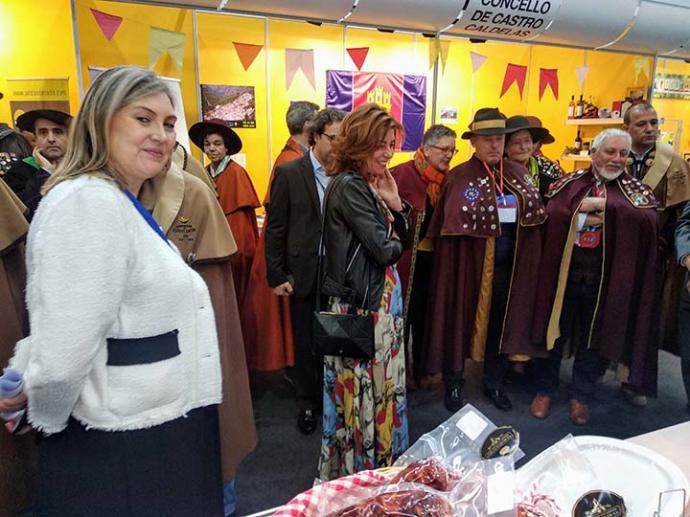 Cuarenta y dos cofradías gastronómicas de España, Francia y Portugal se reunieron en Ourense.