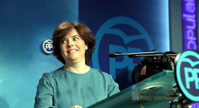 Soraya Sánez de Santa María, ex vicepresidenta del gobiernoi