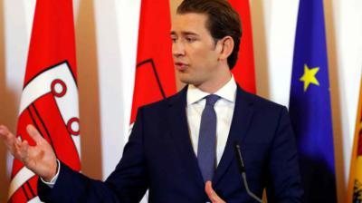 El primer ministro austriaco, Sebastian Kurz