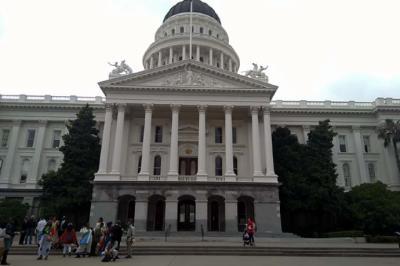 El Capitolio Estatal de California en Sacramento abierto al público