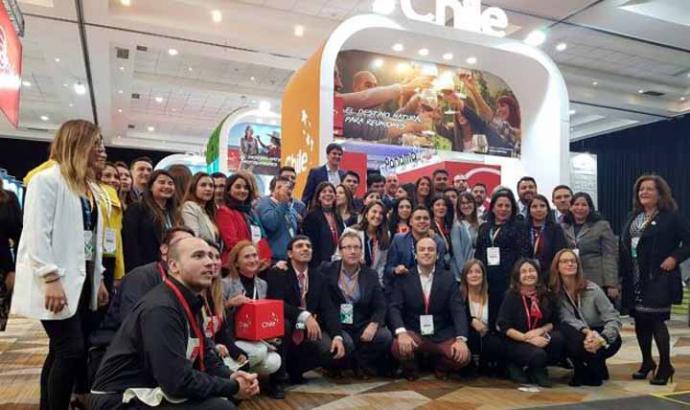 Región de Los Ríos en la Feria de Turismo de Reuniones más importante de Latinoamérica