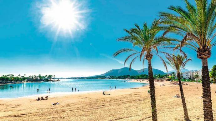 Una imagen promocional de Mallorca del turoperador.
