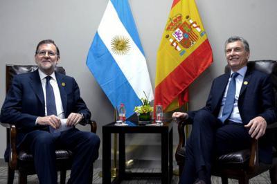 Rajoy alabó a Macri y su gobierno
