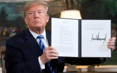 Citas clave de Donald Trump sobre el retiro de EEUU de acuerdo nuclear con Irán