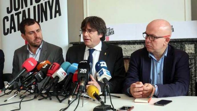 Ciudadanos recurre al TC la candidatura de Puigdemont para las elecciones europeas