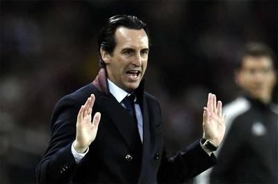 Unai Emery, técnico del PSG