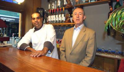 León Carrillo (d) y Gonzalo amoros, Gerente-propietario y Chef respectivamente