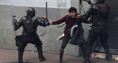 Ecuador: Decretan toque de queda nocturno por las manifestaciones de protesta