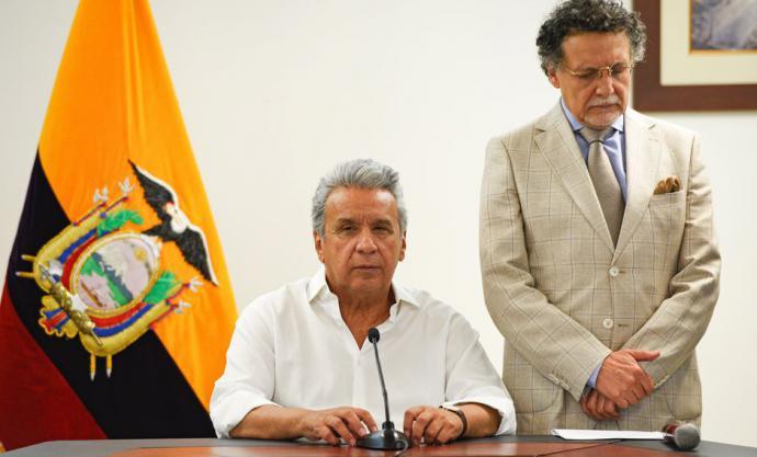 Ecuador: Moreno descarta renunciar a la presidencia y anuncia diálogo con grupos indígenas