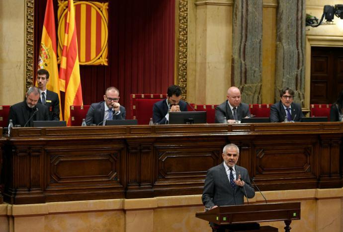 Madrid espera 'abrir la puerta política' tras sentencia a separatistas catalanes