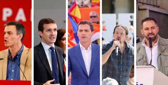 PP y Vox, los partidos que más cambian sus listas para el 10N