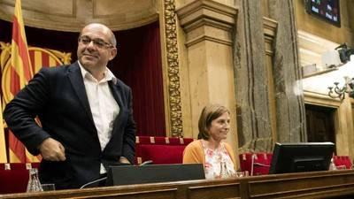 Justicia española pone bajo la lupa a los dirigentes independentistas