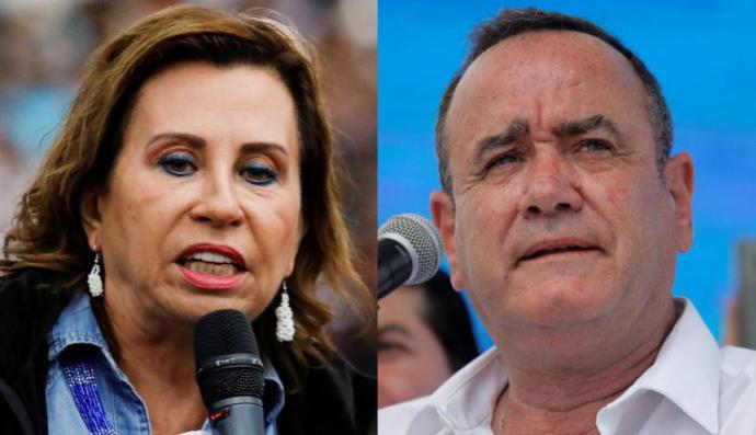 Guatemala elige presidente el domingo entre Sandra Torres y Alejandro Giammattei.