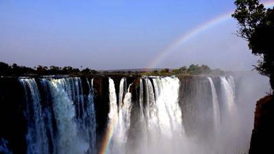 Un paisaje de Zimbawe
