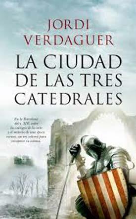 """Jordi Verdaguer, autor del libro """"La ciudad de las tres catedrales"""", editado por Almuzara"""