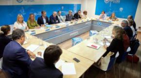 Reunión del Comité de Dirección del PP de Madrid. / PP de Madrid