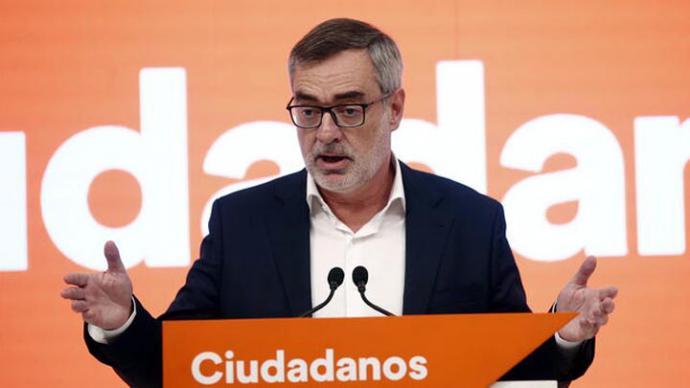 José Manuel Villegas, coordinador del Comité de Negociaciones de Ciudadanos