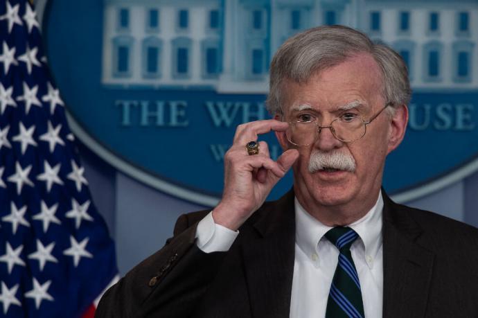 John Bolton, consejero de seguridad de Estados Unidos es una de los fichas claves de Washington en el caso venezolano.