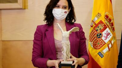 La presidenta de la Comunidad de Madrid, Isabel Díaz Ayuso.Comunidad de Madrid.