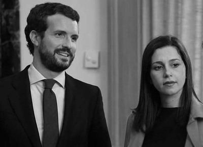 Casado y Arrimadas (imagen de archivo)