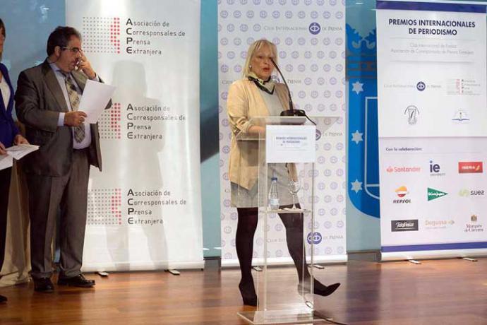 ACPI: Entrega de los Premios Internacionales de Periodismo